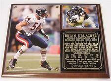 Brian Urlacher #54 Chicago Bears 2000-2013 Retirement Photo Card Plaque MLB