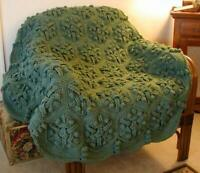Just  Right Sage Crochet Afghan Pattern