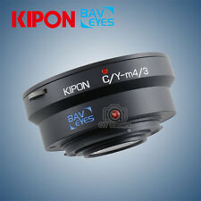 Kipon Baveyes Focal Reducer Adapter for Contax Yashica Lens to Micro 4/3 Body