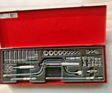 "Stanley Proto Tools Socket Wrench J52138 SET SKT 3/8"" DR 33 PC 12P NEW LOW PRICE"