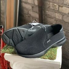 NEW Women's Fila Soft Mallorca Comfort Casual Slip On Shoes Black - Pick Size