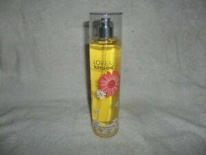 New Bath & Body Works fine fragrance mist 8oz Love & Sunshine
