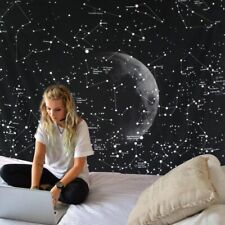 Brilliant Space Star Map Tapestry Galaxy Constellation Cloth Home Wall Blanket