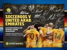 ✺New✺ 2017 SOCCEROOS World Cup Poster - 42cm x 29.5cm - Tim Cahill