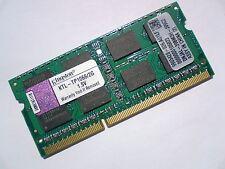 2GB DDR3-1066 PC3-8500 Kingston KTL-TP1066/2G LAPTOP SODIMM RAM MEMORY SPEICHER