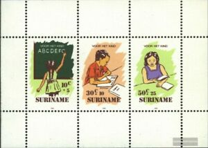 Surinam Bloque 41 (edición completa) nuevo 1985 juventud