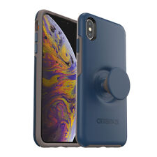 OtterBox + Pop SYMMETRY SERIES Case for Apple iPhone XS Max - Go To Blue