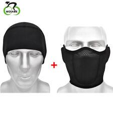Protetor de rosto de inverno Conjunto Térmico respirável Polaina para pescoço Meia Balaclava Headwear
