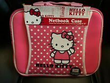 New HELLO KITTY LAPTOP/NETBOOK SLEEVE UP TO 12""
