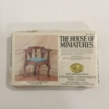Vintage Dollhouse 1:12 Scale House of Miniatures Chippendale Corner Chair