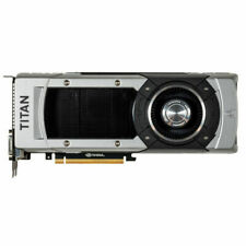 NVidia GTX Titan Black 6GB DDR5 (Works for MacOSX* and Windows)