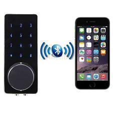 Smart Keyless Door Lock Bluetooth Home Entry Deadbolt Touch Password Silver US