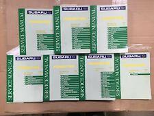 2003 Subaru Forester Repair Shop Service Manual Set of 7 Original OEM Volumes