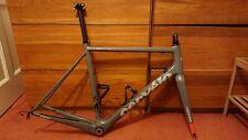 Cervelo R2 Carbon Road Bike Frameset/Frame Only Size 56 Di2 Ready Grey/Orange