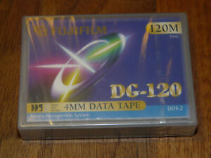 FUJIFILM DG-120 4mm 120M Cartridge DDS2 Data Tape neu in Folie