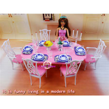Gloria,Barbie Doll House Furniture My Fancy Life Dining Room