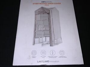 Lakeland Drysoon Mini 3 Tier Heated Airer COVER