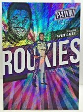 Bubba Wallace 2018 Panini The National #124 - RAPTURE Rookies RC #'d 361/399