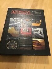 Automotive Mechanics by William H. Crouse Eighth Edition Hardcover