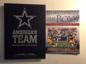 America's Team The Official History of the Dallas Cowboys VERY FINE + Bonus Book