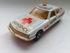 Matchbox Speed Kings K-62 Doctor Emergency Citroen SM  England 1976