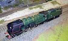 Locomotiva a vapore Pacific 231K della SNCF H0 Digitale DCC Jouef