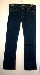 Fidelity Jeans Sz 28 Skinny Flare Japan Rose Heritage Rinse Cotton Spandex