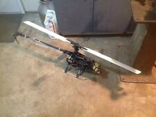 "Century HAWK RC Radio Remote Control Gas Powered Helicopter 49"" Blade Diameter"
