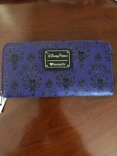 Disney World Haunted Mansion Wallpaper Wallet By Loungefly