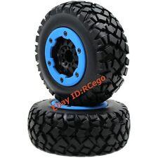 2pcs RC 1/10 short course Off Road Reifen tires 2.2 / 3.0 Felge wheels Hex 12mm