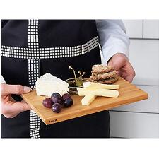 NEW IKEA Mini Wooden Bamboo Kitchen Chopping Cutting Board Serving Tray 24x15cm