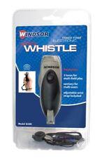Windsor Three Tone Electronic Sports Whistle with Wrist Lanyard