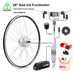 """YOSE POWER E-Bike Umbausatz 36V 250W 28"""" Frontmotor Motor Kit Conversion Kit"""