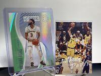 2020 Illusions Basketball, Anthony Davis Green Acetate Insert +Luminance. Lakers