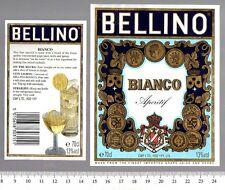 UK Bottle Label - Bellino Bianco Aperitif
