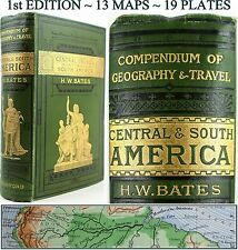 H.W.BATES:CENTRAL & SOUTH AMERICA,WEST INDIES/JAMAICA/RIVER AMAZON/MEXICO/BRAZIL