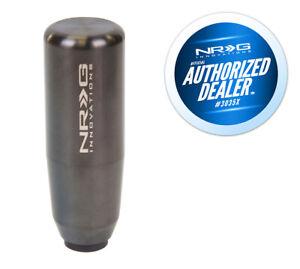 "NRG 3.5"" Shaft Style Weighted Gun Metal Shift Knob - 10x1.25mm for Mazda, Mitsu"