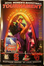 "2009 Connecticut Huskies Final Four NCAA Women's Basketball 24 x 36"" Poster"