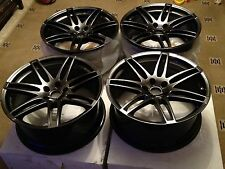 "Genuine Audi 20"" A5 S5 Alloy Wheels (Dark Edition) x4 Q5 , RS4 , RS6, RS5"