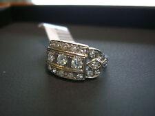 PLATINUM AND DIAMOND ESTATE VINTAGE RING BEAUTIFUL 0.80 CT DIA