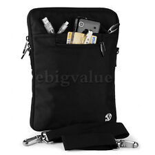 Black Tablet Shoulder Strap Bag Pouch Case for iPad Pro 9.7 / iPad Air 1 2 3 4