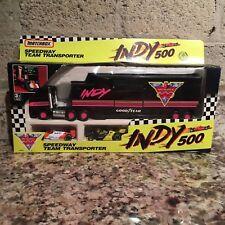1999 Indy 500 Speedway Team Transporter RC Cars  & Trailer
