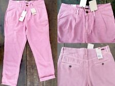 NWT Rose Pink Tapered Leg Spoke Chino Pants Trousers by Levi's Made & Crafted 27