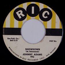 JOHNNY ADAMS: Showdown / Tra-La-La RIC R&B Soul 45 NM-