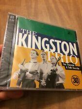 The Kingston Trio Treasures & Folk Favorites Greatest 30 NEW SEALED 2000 2 CD's