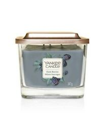 Yankee Candle:Dark Berries Medium 3-Wick Square Candle{Mûres Sauvages}{1591092E}