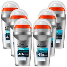 6x 50ml L'Oréal Men Expert Déodorant Roll Échafaudage sur Frais Extrême 48h