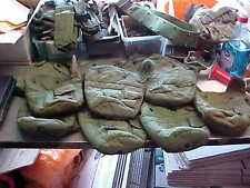 US Military MILITARY  1Qt Canteen Cover   OD LC-2 Pouch Carrier  Alice Clips