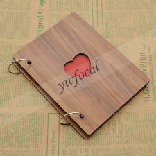 Wooden Covering Albums Handmade Loose-leaf Pasted Photo Album Scrapbooking