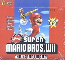 Super Mario Bros. Wii Trading Card Fun Paks Box